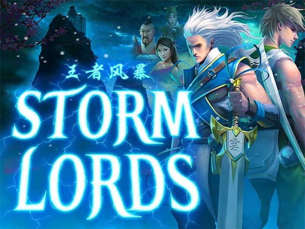 RTG's brand new #slot #StormLords is here! Read our #review:  🌩️#casino #games #slots #bitcoincasino