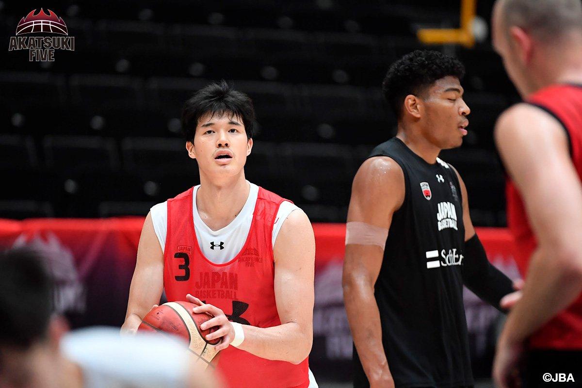 test ツイッターメディア - #AkatsukiFive 男子日本代表:前日練習 8月22日(木)19:00 🇯🇵男子日本代表 vs アルゼンチン🇦🇷 [生中継]BSテレ東/バスケットLIVE  「ワールドカップへ向けて良いスタートを切るためにも明日の試合は良い形で入れるようにしたいです」渡邊雄太選手  🎫https://t.co/tko61icKyK #FIBAWC #JAPANMADNESS https://t.co/z7GPOdcDdE