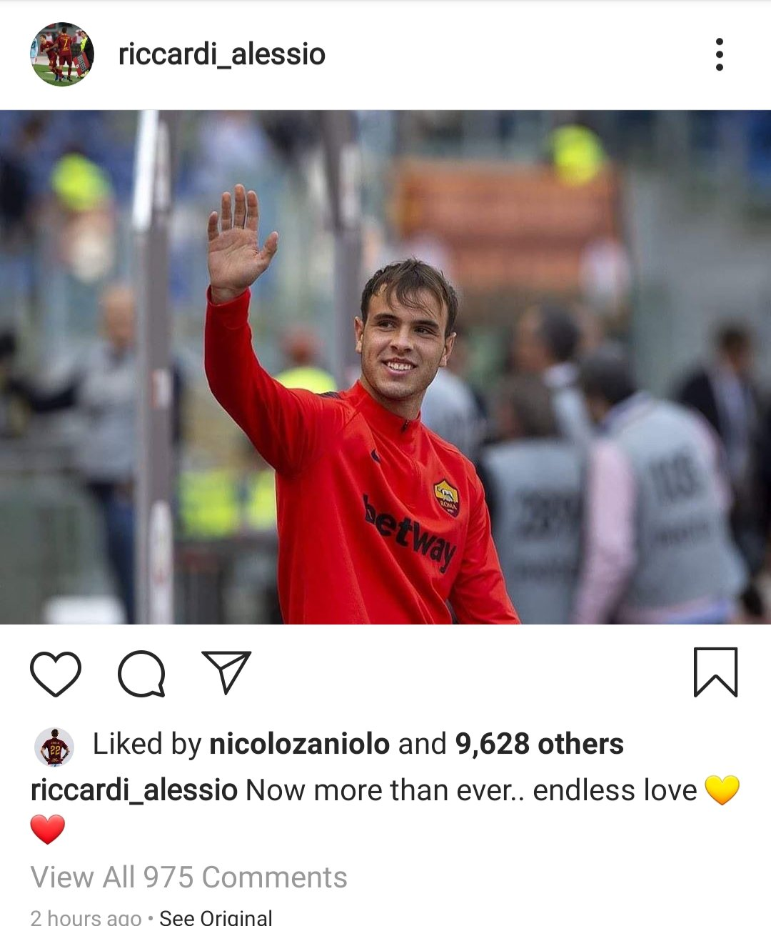 Alessio Riccardi on Instagram https://t.co/3xwAiry8ns