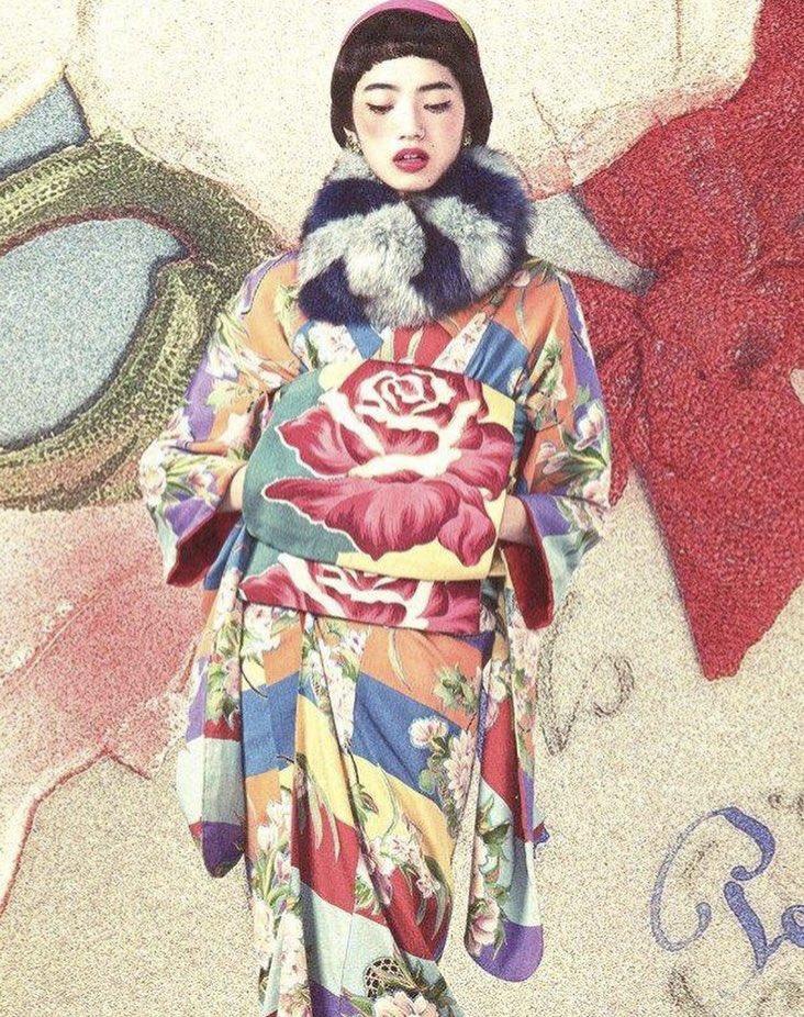 test ツイッターメディア - 小松の菜奈さん。着物仕事のモガ感とても良い。 https://t.co/7pGAbZij5N