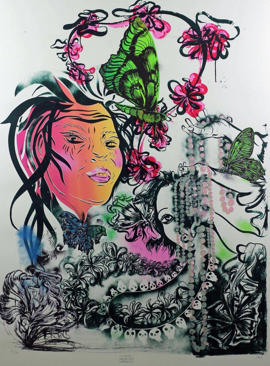 test Twitter Media - Titel Chains Kunstenaar Emmerich, Haddassah Techniek Zeefdruk op papier Jaar 2006 Afmetingen met lijst (buitenmaat) 167 x 127 cm Afmetingen zonder lijst en passe partout 161 x 121 cm Staat Uitstekend Meebieden kan tot zo. 25 aug. 20uur via de link https://t.co/nm8LTZmbmC #art https://t.co/5gYh42TZ5G