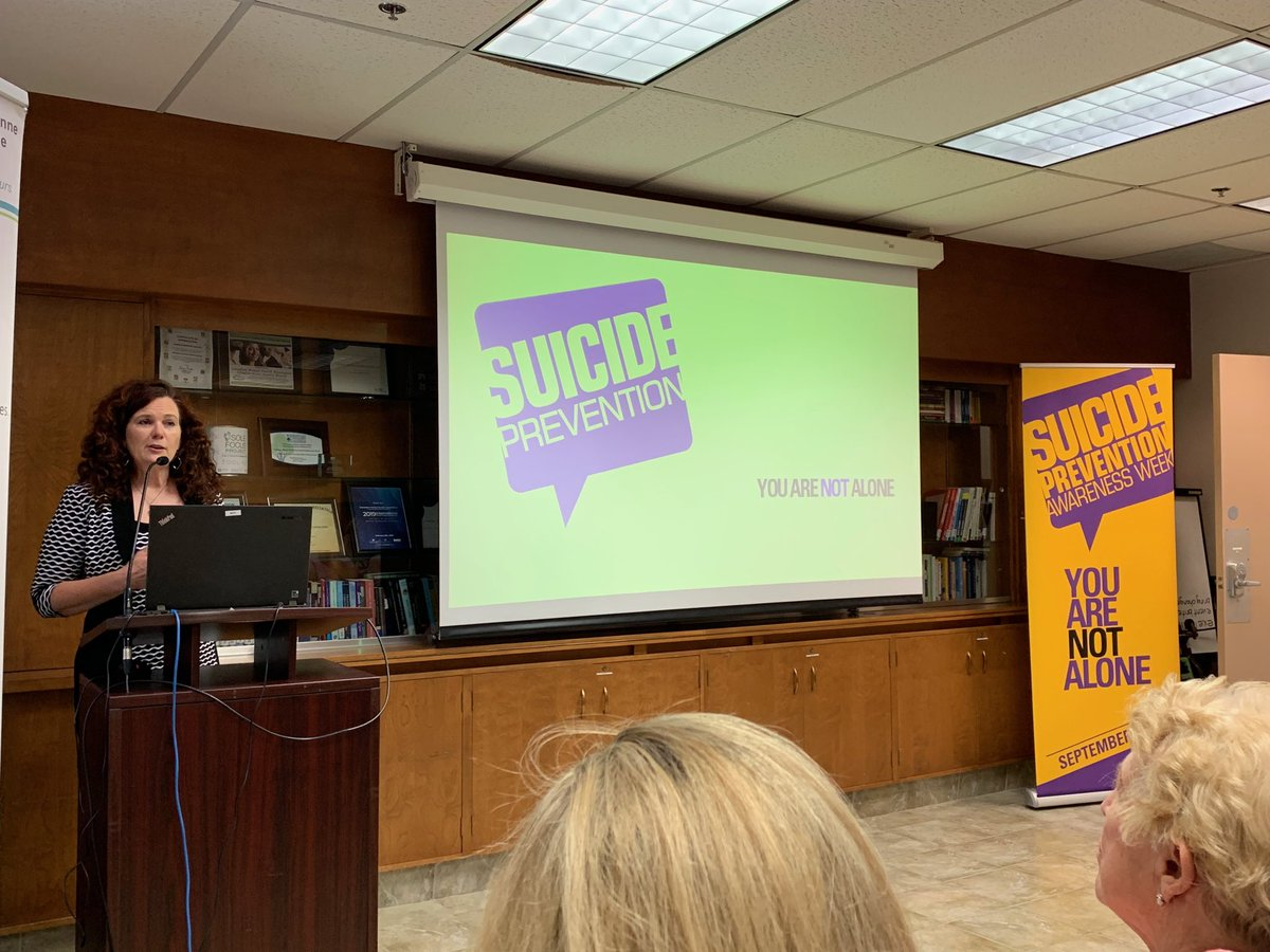 test Twitter Media - Launching suicide prevention awareness month @CMHAWECB @TheWECHU #youarenotalone https://t.co/sk6VINBhg3
