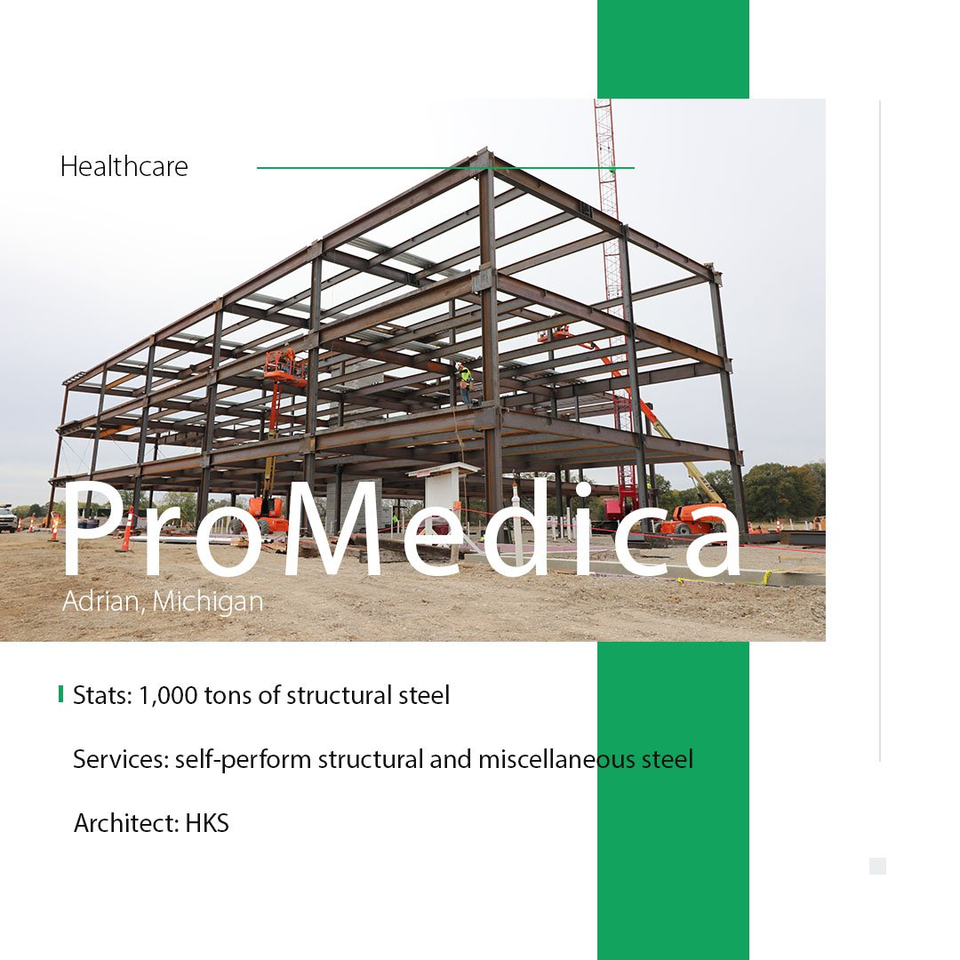 test Twitter Media - SidePlate connections were used on the new ProMedica hospital, which increased productivity and improved erection safety. Read more about the technologically advanced hospital: https://t.co/OpSmTLIyhP https://t.co/BFha3SWsUT