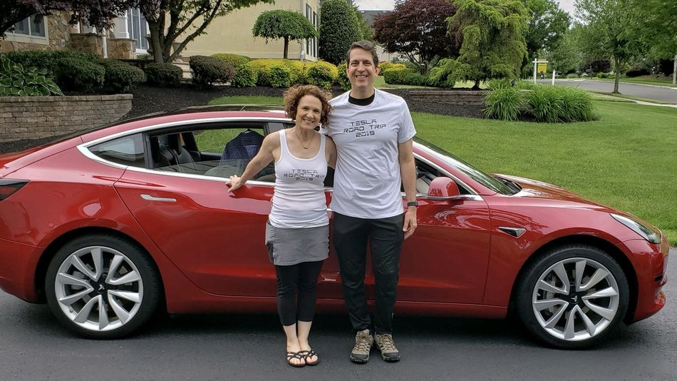 Forget range anxiety, this couple drove across the country in a