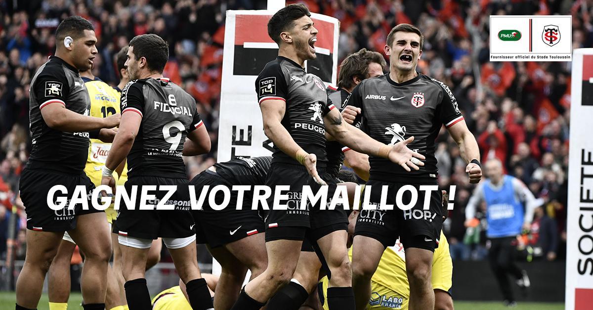 Jour de reprise pour notre club partenaire 👉 1 maillot du @StadeToulousain à gagner 🔴⚫️  RT + Follow @PMU_Sport pour participer TAS mardi #UBBST