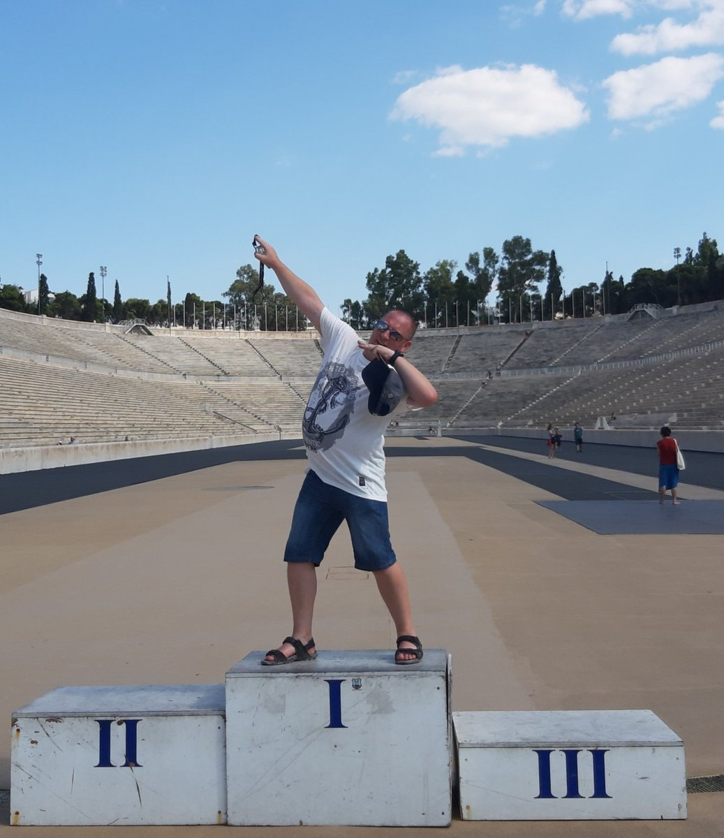 test Twitter Media - What have you done this holiday? Mr Ryan ran around the original Olympic Stadium in Athens. https://t.co/D3yYQ455Ur