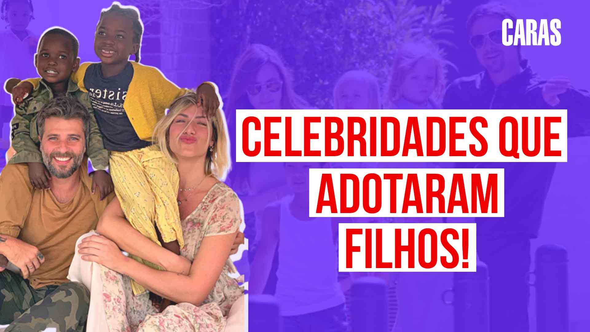 De #Bruno Gagliasso a #Brad Pitt, confira 5 celebridades que adotaram os filhos. https://t.co/eEW6jl6S13