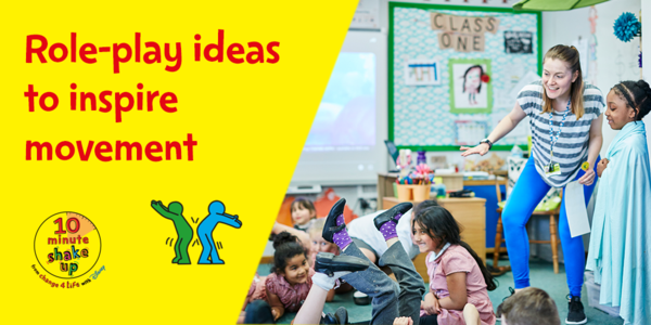 Developed with teachers, the @Disney_uk themed @Change4Life activities introduce pupils to 10 minute-bursts of active fun inspired by their favourite characters from Disney and Pixar! Find out more at: https://t.co/5P0QthqnrB @PHE_uk