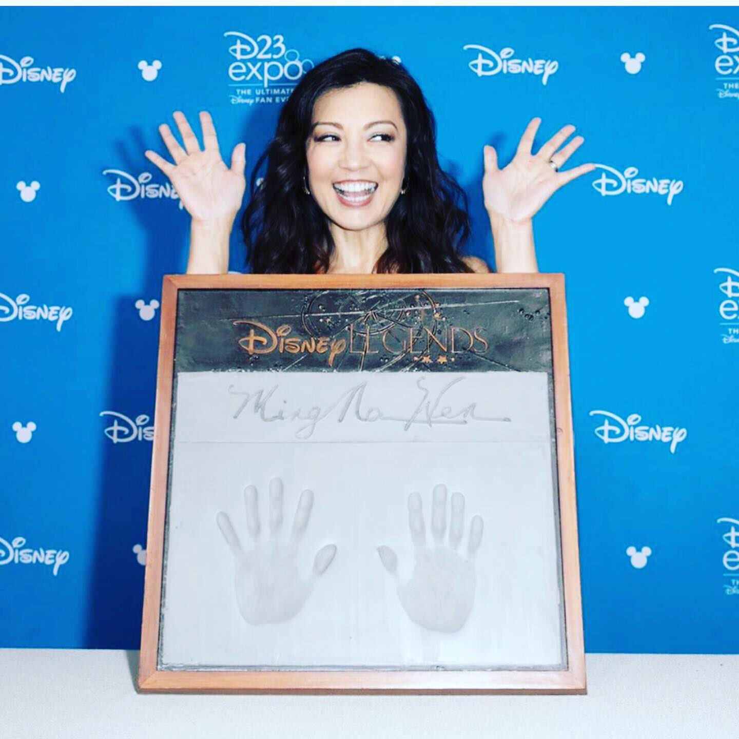 Congratulations to our very own Disney LEGEND, @MingNa! #AgentsofSHIELD https://t.co/d2X5mKtIbR