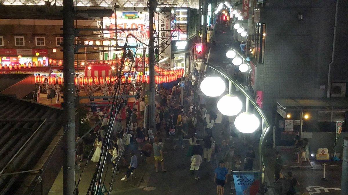 test ツイッターメディア - お祭りやってた (@ 明大前駅 - @keiodentetsu in 世田谷区, Tōkyō) https://t.co/Ktokz6aOYK https://t.co/61wywLaNiD