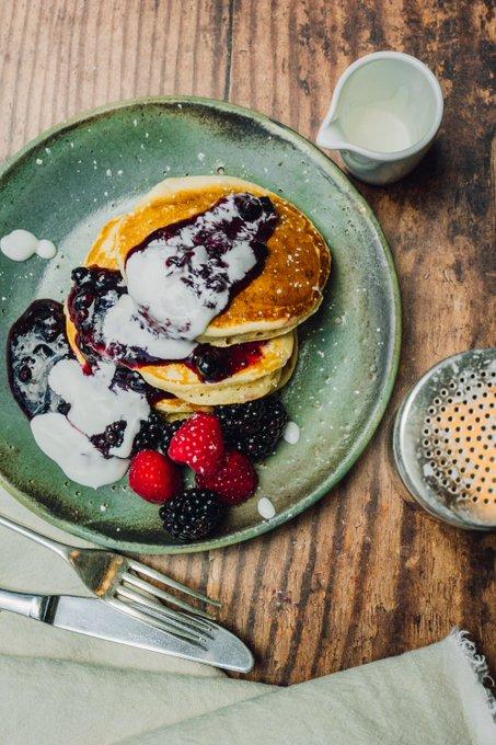 Weekend mode: Pancakes, pancakes, pancakes👌