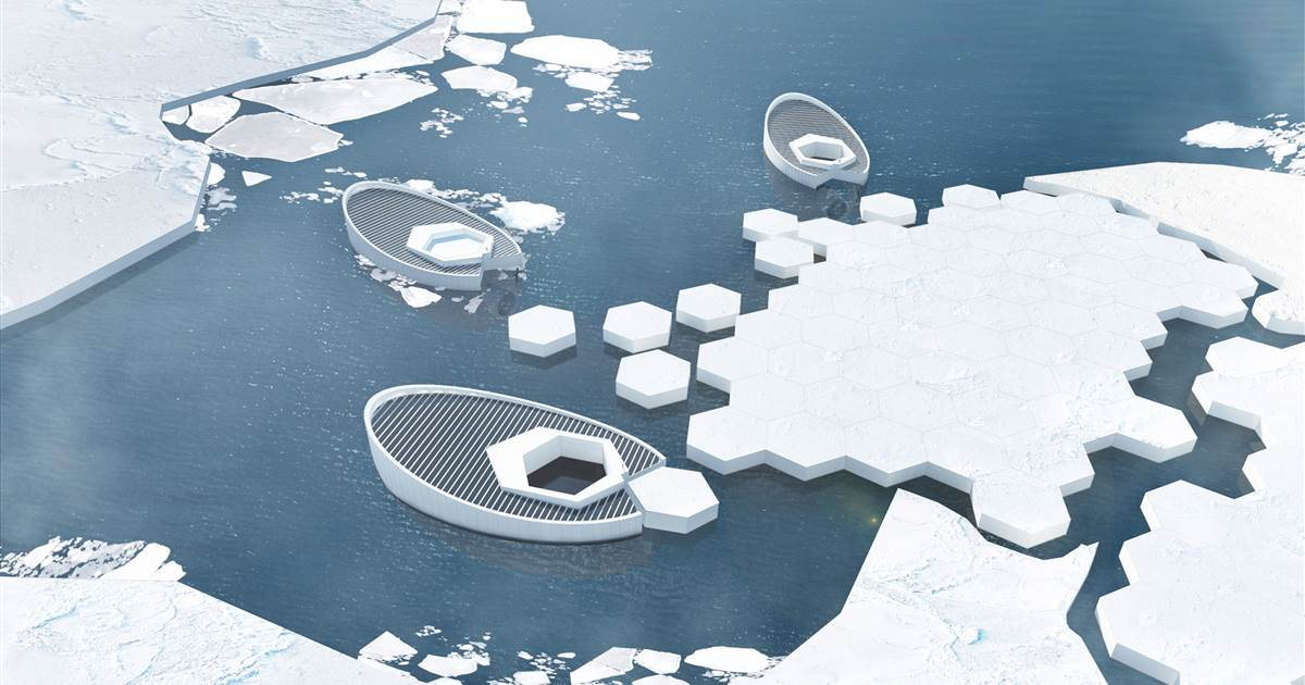 This ice-making submarine would pop out bergs to help stop rising seas