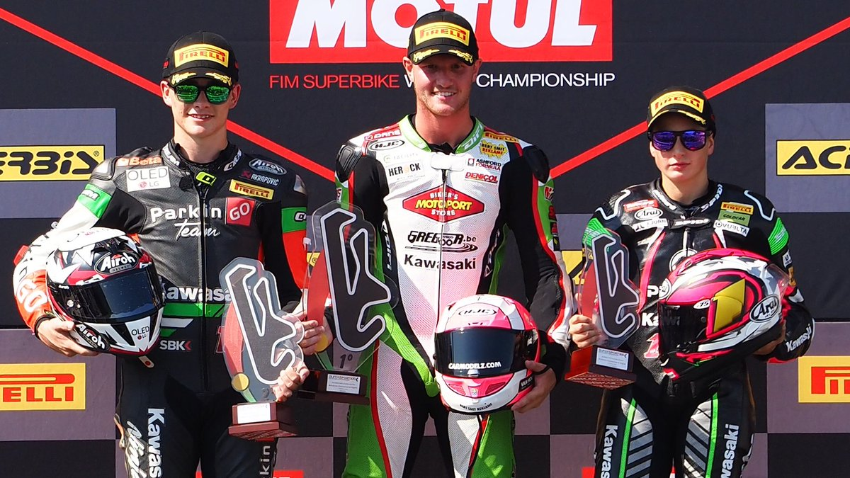 test Twitter Media - What did the #WorldSSP300 podium make of Portimao encounter?  #PRTWorldSBK🇵🇹  📹INTERVIEWS | #WorldSBK  https://t.co/uclR5eb83d https://t.co/uvde99y0Fb