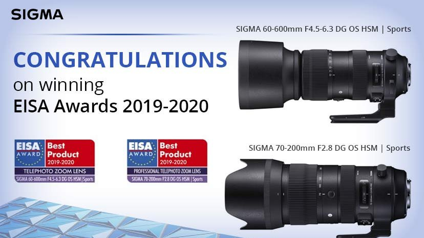 Congratulations on winning EISA Awards 2019-2020!