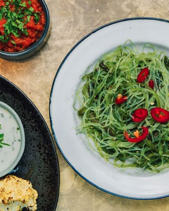 Wakame & glass noodle salad, just what your plate ordered 👌