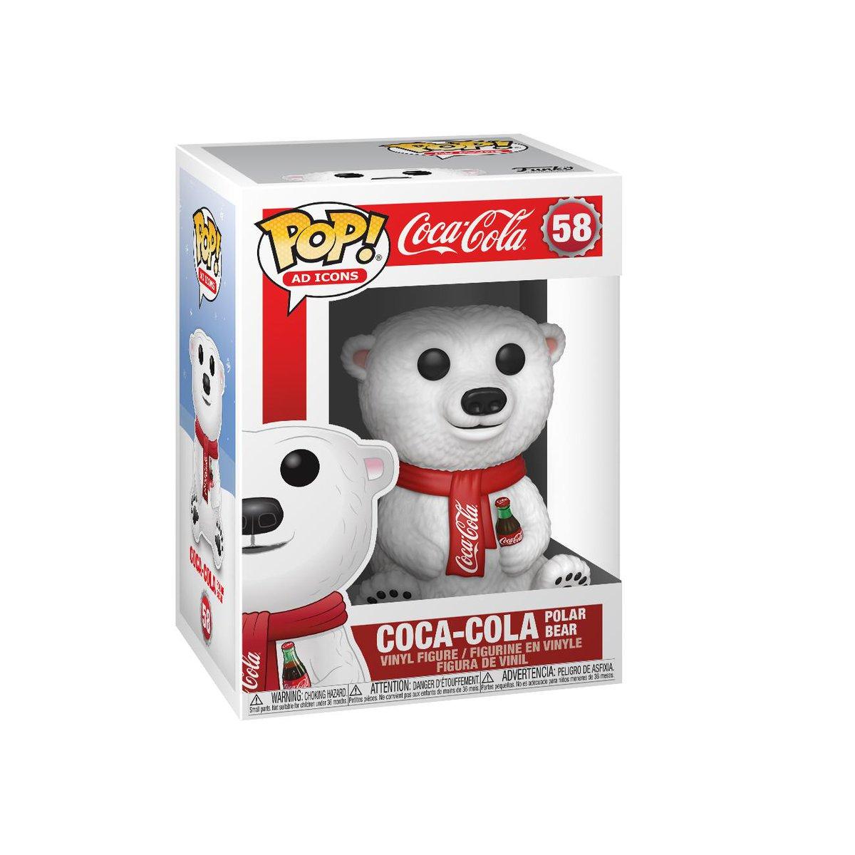 RT & follow @OriginalFunko for a chance to WIN a @CocaCola Polar Bear Pop! #Funko #Pop #FunkoPop #Giveaway