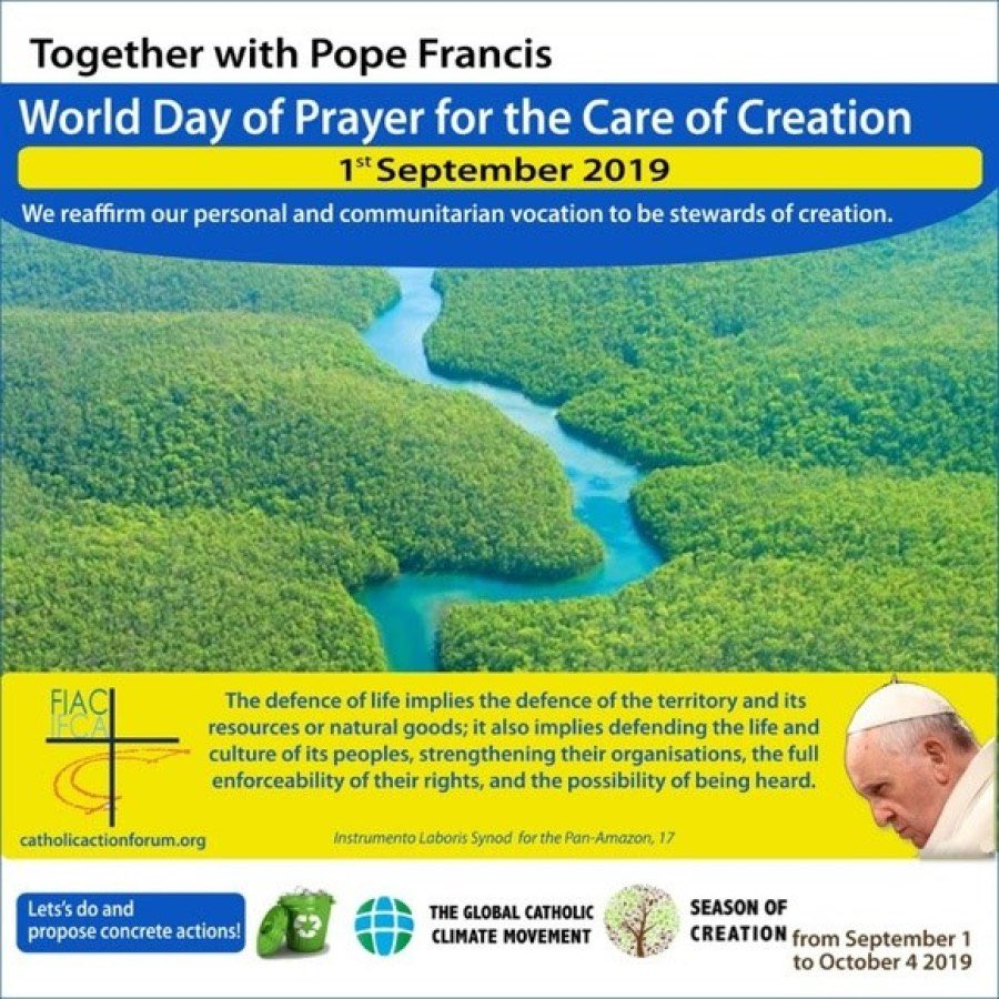 test Twitter Media - Let's pray today for the care of creation as Pope Francis requests. This day is also the 80th anniversary of the German invasion of Poland that ignited WW2. So let us pray today too for true international peace and for freedom from war, terrorism and violence. https://t.co/K6p0REcghZ