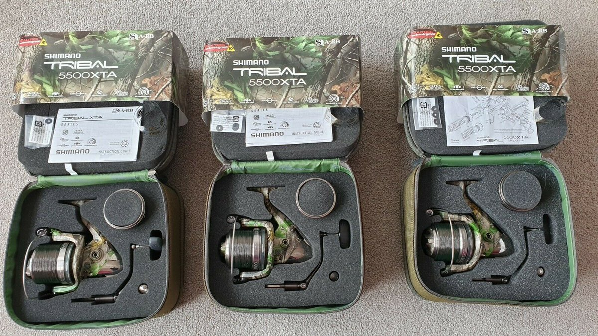 Ad - Shimano Tribal 5500 XTA Reels On eBay here -->> https://t.co/L05TA5O2d9  #carpfishing htt