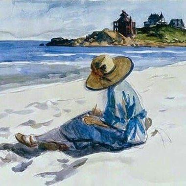 Edward Hopper Sur la plage ... https://t.co/OEyvxNzh6S