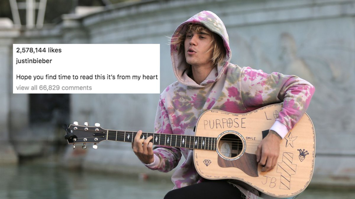 Justin Bieber opens up about fame and drug use on Instagram