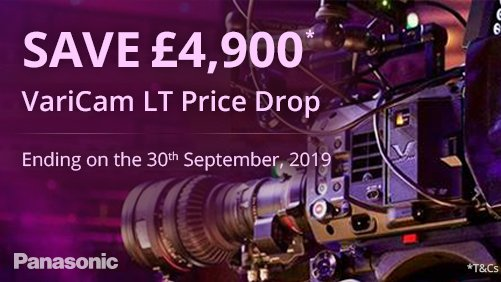 ➡️SAVE £4,900*❗️#VariCam LT Price Drop!