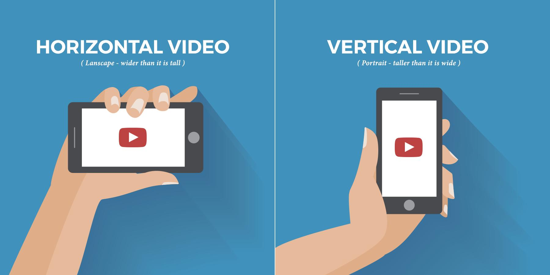 Horizontal vs. Vertical video came up again today for me. Here's the thing, if there's a chance your audience will watch your video on a wide screen TV or computer, record horizontally. If your audience is on Snapchat or Instagram (IGTV) vertical is fine. #justsayin #powerofvideo https://t.co/EZEaG6wSkQ
