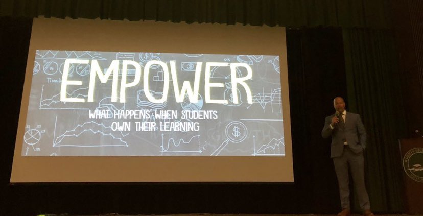 test Twitter Media - Hands down the best keynote speaker to kick off the new school year! So inspirational! @ajjuliani #HazletProud #CRSMustangs #BETHEGOOD @CRSmustangs @LillianDriveSch https://t.co/qI2HFV3WUr