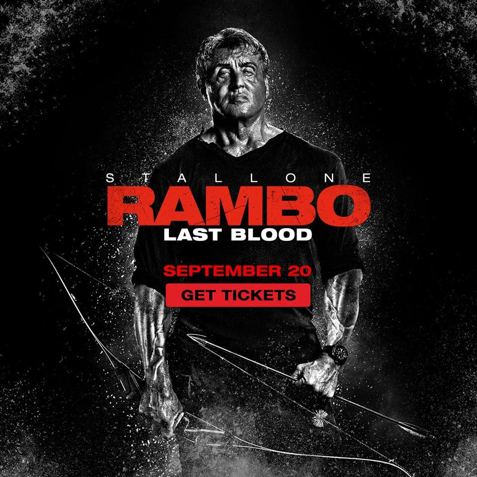 test Twitter Media - What made him a soldier will make him a legend. #Rambo tickets are on sale NOW: https://t.co/CpmW9JeCkj  See it in #DBOX September 20. https://t.co/SII9f5eCkB