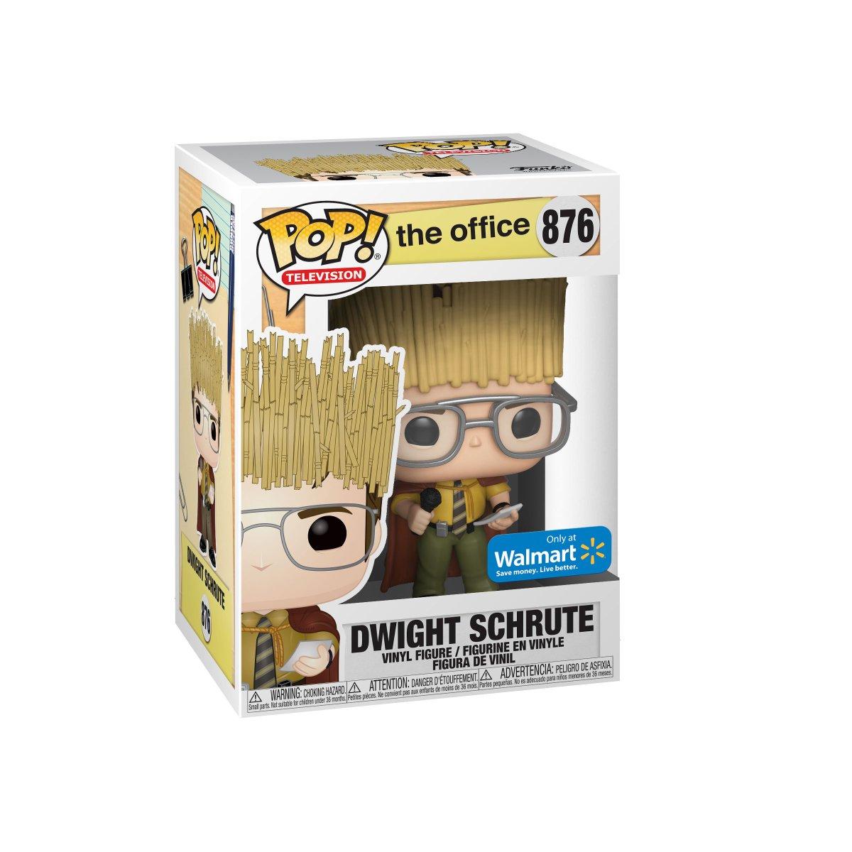 RT & follow @OriginalFunko for a chance to WIN a Walmart exclusive Dwight Schrute Pop!  #Funko #FunkoPop #Giveaway #TheOffice