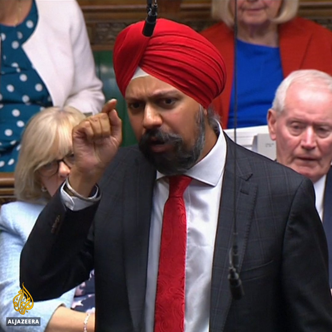 """""""When will the prime minister finally apologise for his derogatory and racist remarks?""""   This British Sikh MP was cheered on as he called out UK PM Boris Johnson for his racist rhetoric. https://t.co/qA7GGWOPvV"""