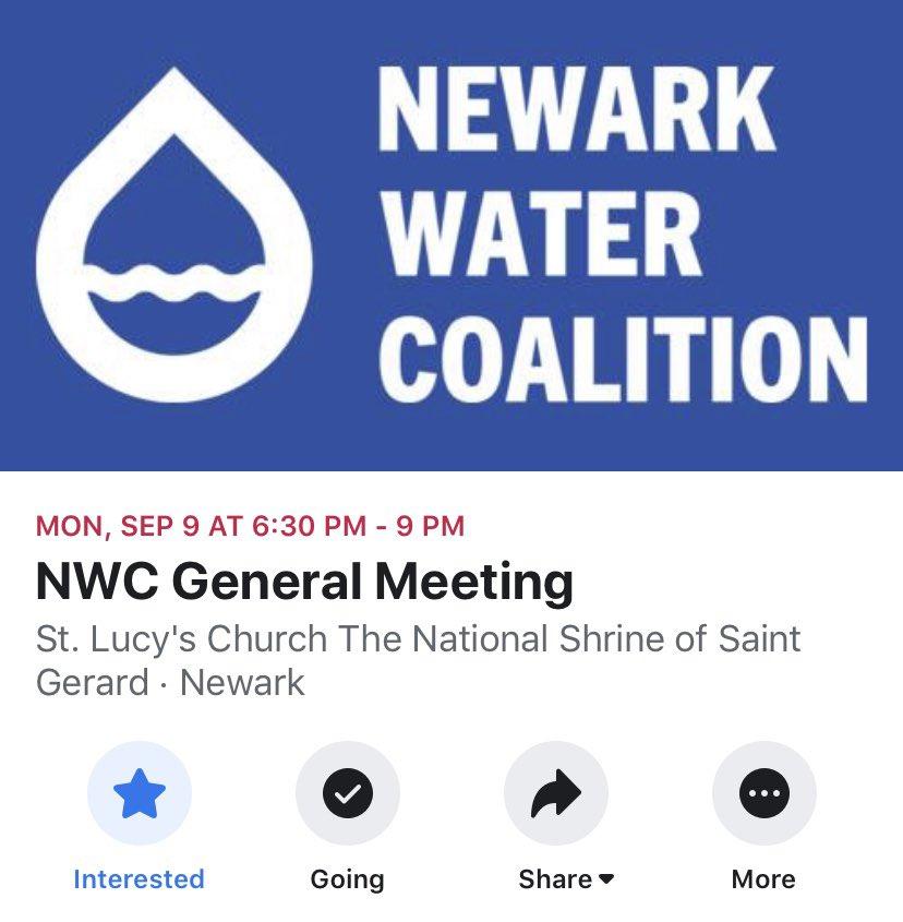 MONDAY #NewarkWaterCrisis #CleanWater4Newark #NoSafeLevelsofLead https://t.co/iyXDaY1FwW