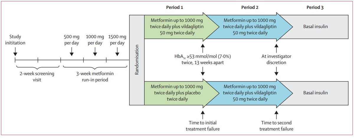 test Twitter Media - Glycaemic durability of an early combination therapy w/ vildagliptin & metformin vs sequential metformin monotherapy in newly diagnosed type 2 #diabetes (VERIFY): a randomised, double-blind trial   ICYMI at #EASD2019—Free to read with reg until Sept 26 https://t.co/nX3NQNte4B https://t.co/pKoYZ5sGBy