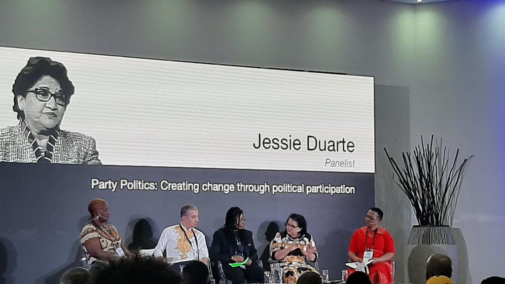 test Twitter Media - Panel discussion; Creating change through political participation. #kopano2019 @OtherFoundation @sylmunya https://t.co/udxmbzVQtm