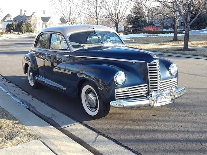 1946 Packard Clipper https://t.co/e4ppQgLP7o