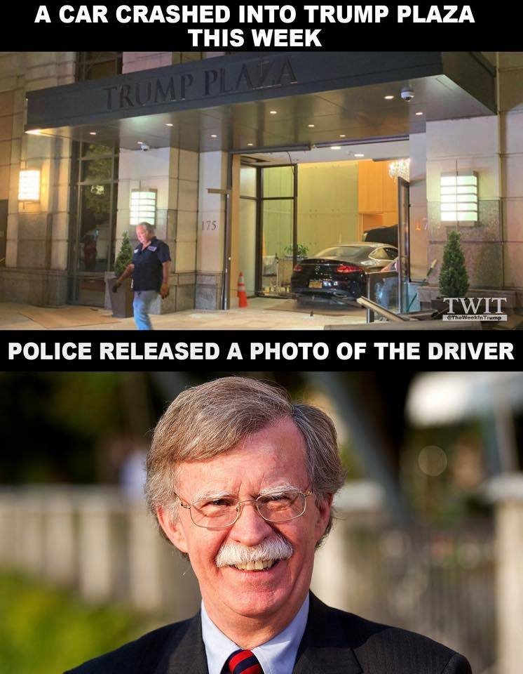 BREAKING NEWS: Police released a photo of the driver that crashed into Trump Plaza https://t.co/vjzZVcYApZ