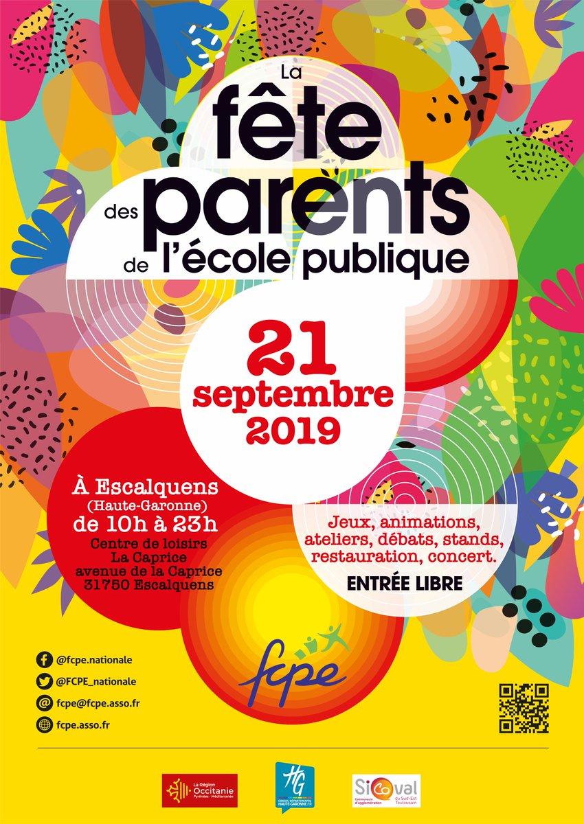 test Twitter Media - #FêteDesParents Samedi 21 septembre, la FCPE et @FCPE31  organisent la fête des parents à Escalquens  de 10 h à 23 h. Pour s'inscrire et voir le programme : https://t.co/zPTJuShM0t https://t.co/aXqPZy2lxk
