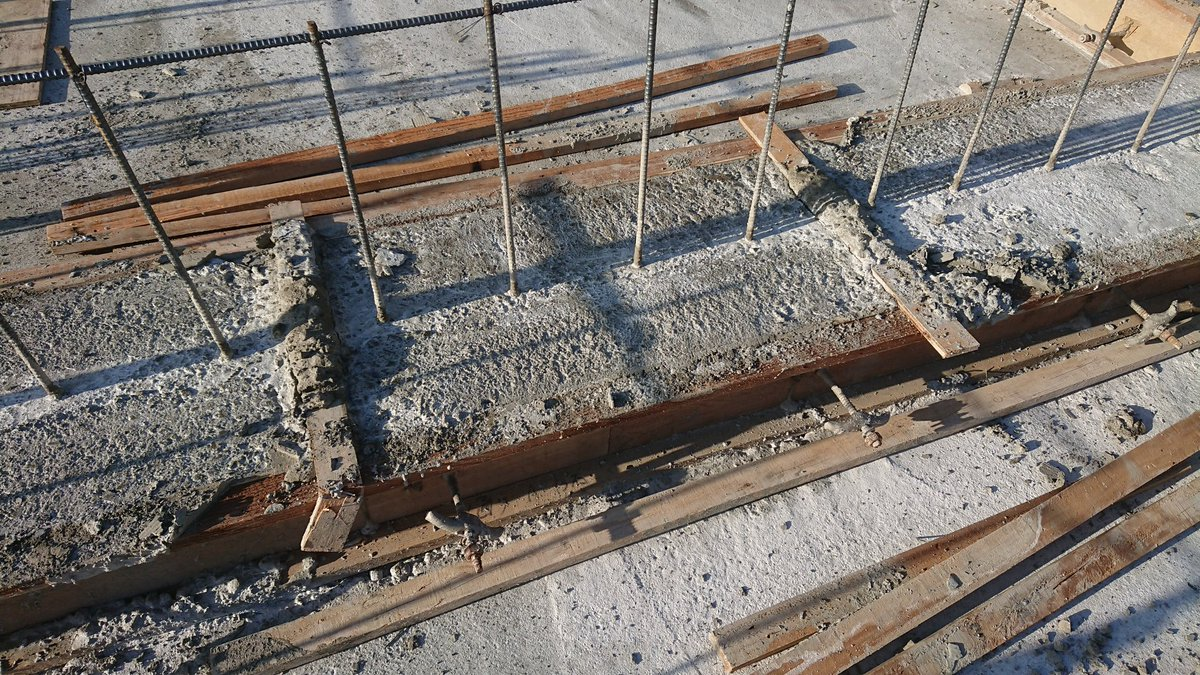 ベテラン型枠大工 ワイ文弱写真 完成形 イラつきセコカン コンクリートに関連した画像-05