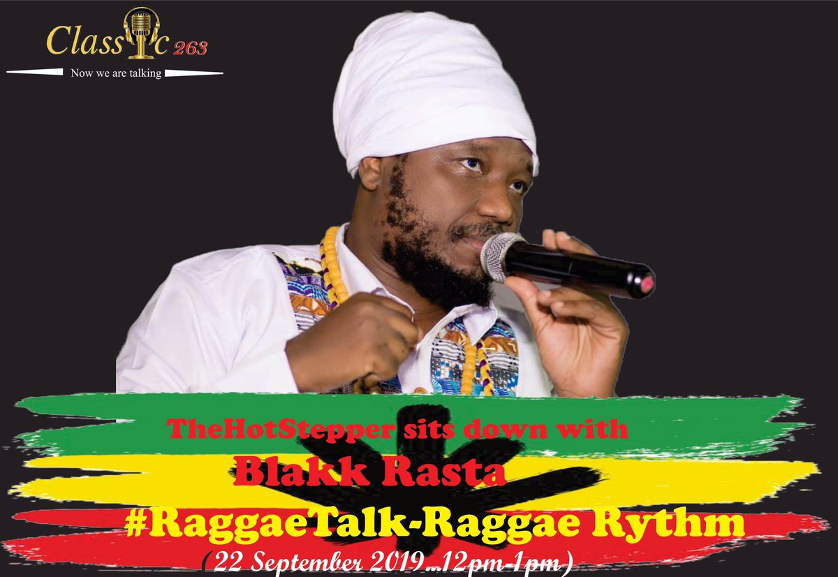test Twitter Media - Don't miss out Reggae Talk this sunday with  @mapurisana as he hosts reggae pan-Africanist all the way from Ghana @Blakkrasta featuring his new album including the tribute song to the late National Hero and Former Zim President RGM. 12-1pm @powerfmzimbabwe @NhauRadio  @MoeChanda https://t.co/7tIuOhB9Mr