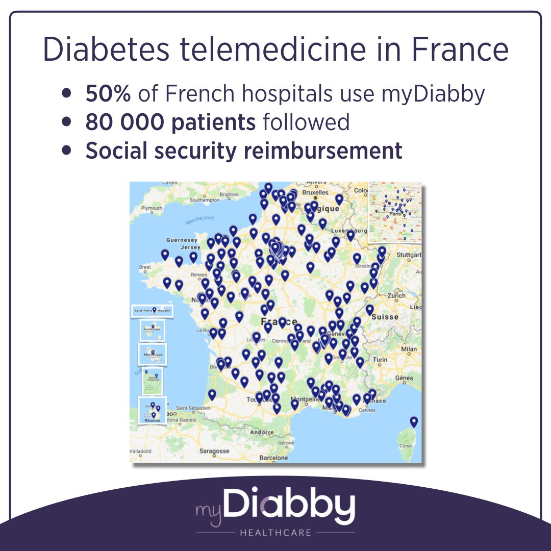 test Twitter Media - So proud of what we achieved with @mydiabby in France becoming the n°1 software for diabetes healthcare. The platform is also available in Belgium, Switzerland & Algeria. #EASD2019 #diabetes #type1 #type2 #gestationaldiabetes #t1d #t2d #telemedicine #digitalhealthcare #FrenchTech https://t.co/UIz4mqLsdS
