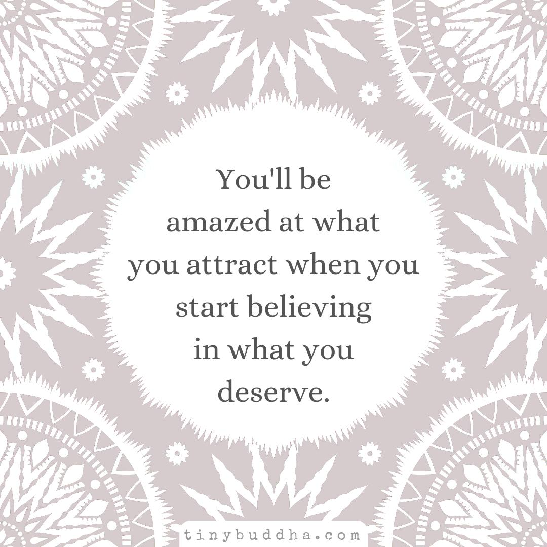 You'll be amazed at what you attract when you start believing in what you deserve. https://t.co/IEjXO8tzPE