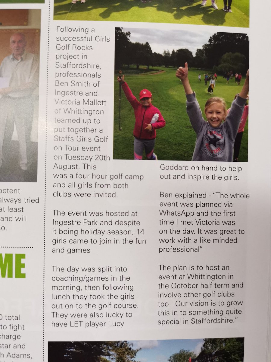 test Twitter Media - Fantastic write up from @MidlandsGolfer 🙌  It really was a great day teaming up @Vic_Mallett and @whgc1886 for a #StaffsGirlsOnTour event!  #girlsgolfrocks @EnglandGolf @EGWomensGolf @GolfRootsHQ @AmeliaLowbridge @LucyGoddard91 @IPGCourseupdate https://t.co/Uw8XIWLsqN