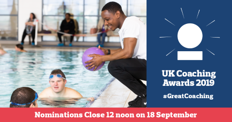 Ensure all coaches from grassroots to the global stage are recognised for this year's UK Coaching Awards🏆  Help showcase the diverse nature of coaching by nominating at https://t.co/XPlBfKxD2h   Nominations close on 18th September, so be quick! #GreatCoaching @_UKCoaching