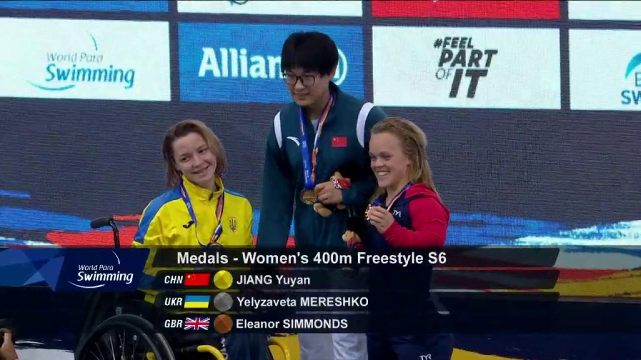 Happiness is medalling at the World Para Swimming Championships...  Congratulations @EllieSimmonds1 😁  #London2019 https://t.co/qODnwMhjIV