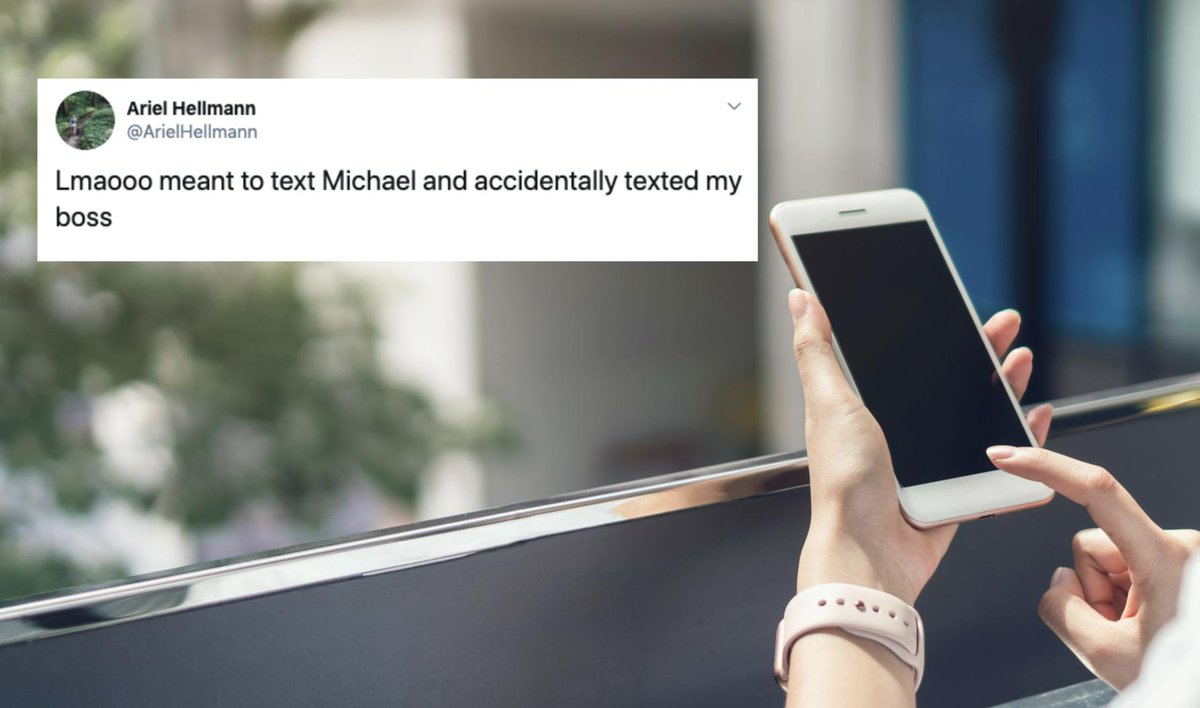 16 times people accidentally texted their boss