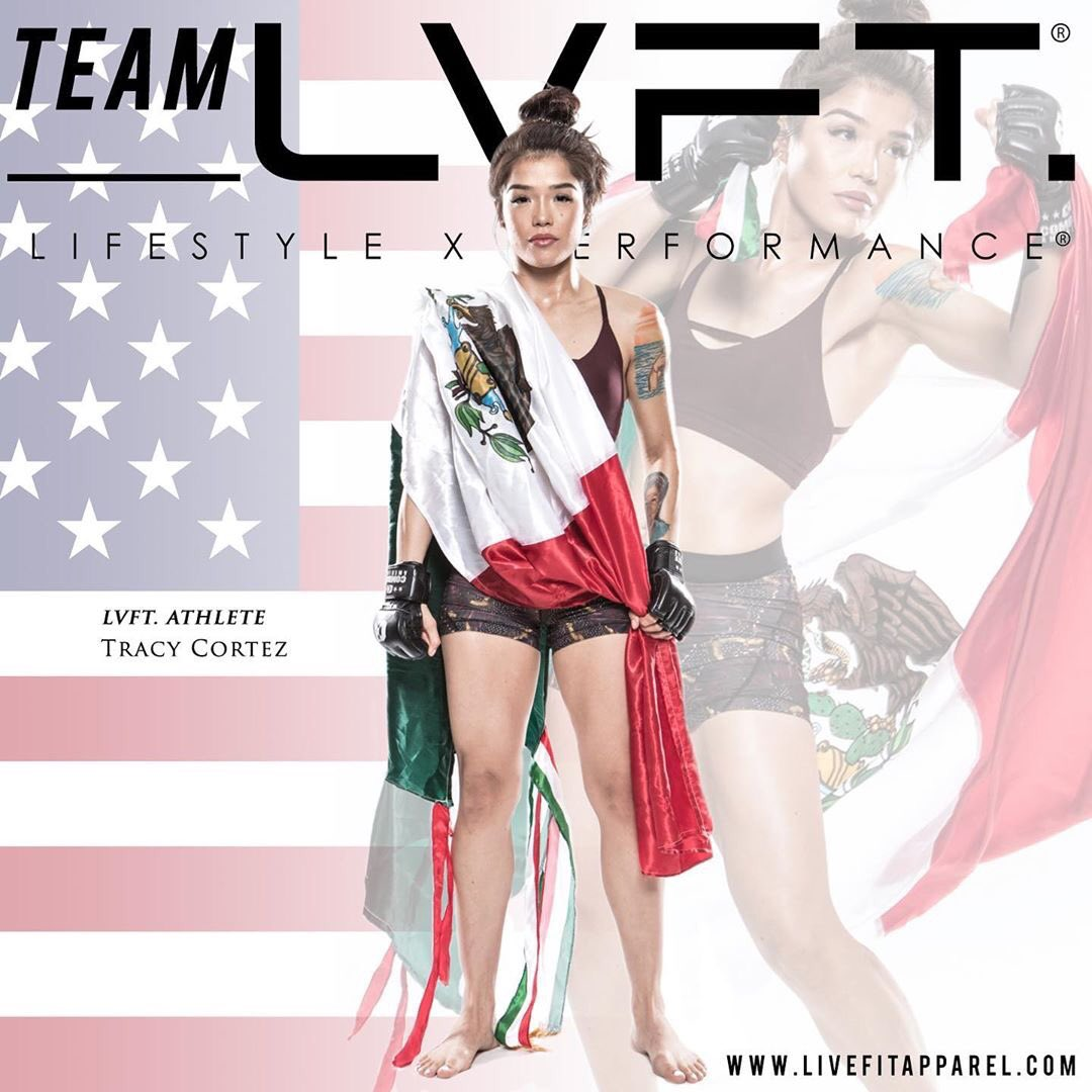 Y'all looking at the new addition of @live_fit_apparel team 🙌🏼🙏🏼 I genuinely love what this brand represents!!! Can't wait to show you what's in the works💪🏼😈 • #LVFT #TEAMLVFT #livefit #livefitapparel #MMA #performance #lifestyle #TracyCortez #UFC https://t.co/q1AOjDW0Gv