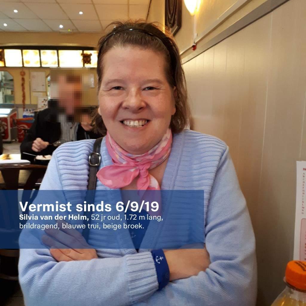 VERMISSING Sinds vrijdag 6 september 2019 's avonds wordt Silvia van der Helm vermist vanuit Tiel