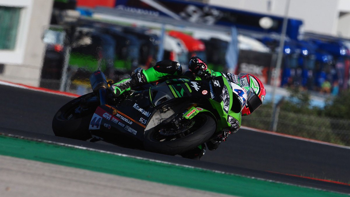 "test Twitter Media - ""Very happy"" @Mahiaslucas takes third consecutive podium of 2019!  #PRTWorldSBK🇵🇹  📃