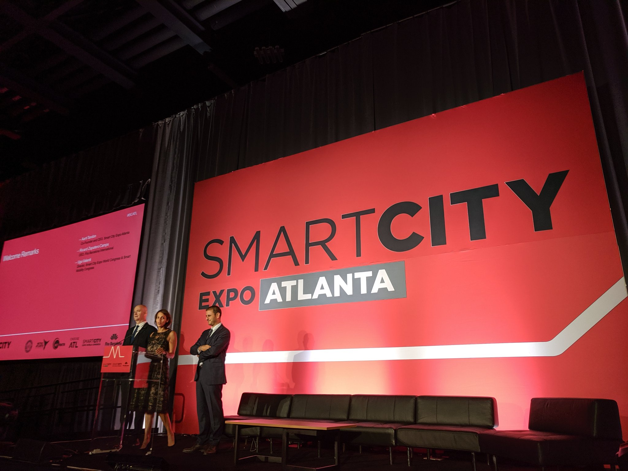 """""""One of the greatest recent learnings from the Smart City Expo Barcelona is that tech alone does not make smart cities. Equity and inclusion must be at their core."""" - @aartitandon #SCATL19 https://t.co/2MNrVGy0Yl"""
