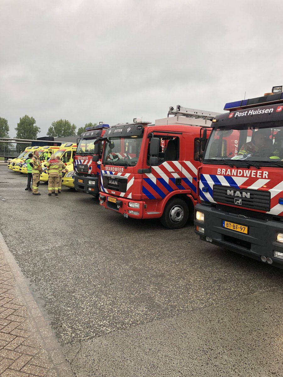 Melding brandweer Doesburg