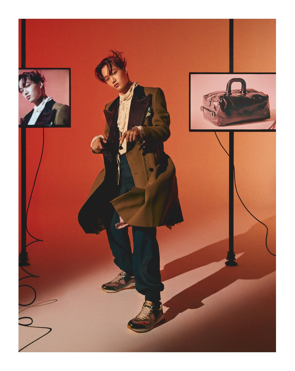 #Kai from @weareoneEXO appears in the September issue of @wkorea wearing #GucciFW19 by #AlessandroMichele. #EXO #GucciEditorials #GucciUltrapace  Photography by: #MokJungWook Styling by: #KimSeaJun https://t.co/RRJ38d1j1N